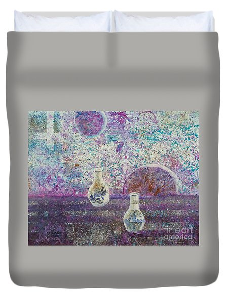 Amphora-through The Looking Glass Duvet Cover