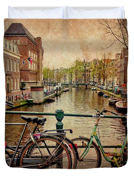 Amsterdam Canal Duvet Cover