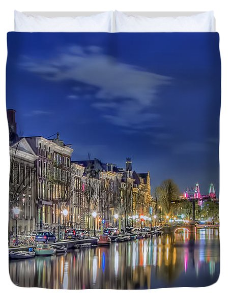 Amsterdam Reflections Duvet Cover