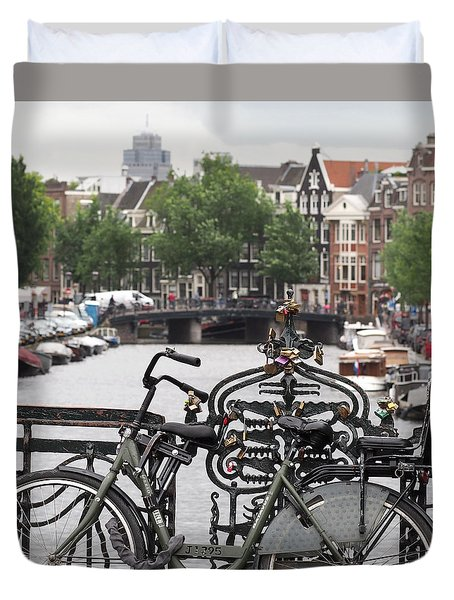 Amsterdam Duvet Cover by Rona Black