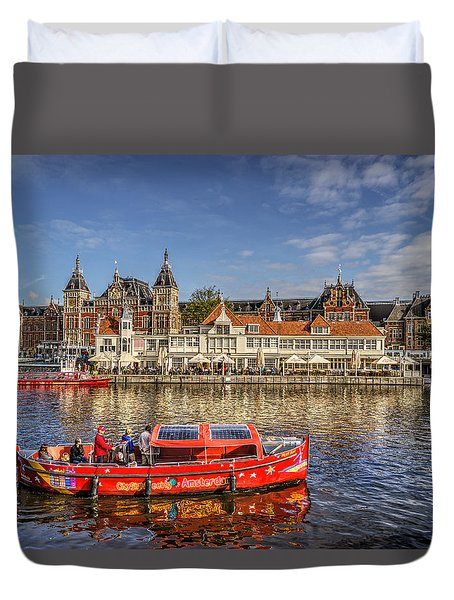 Amsterdam Waterfront Duvet Cover