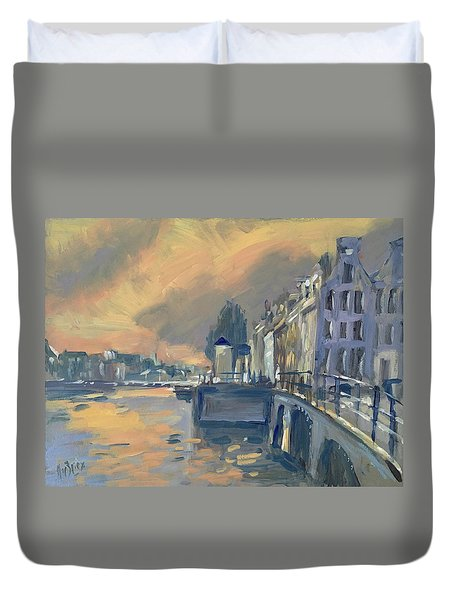 Amsterdm Morning Light Amstel Duvet Cover