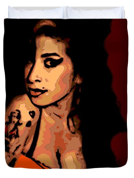 Amy 2 Duvet Cover by George Pedro