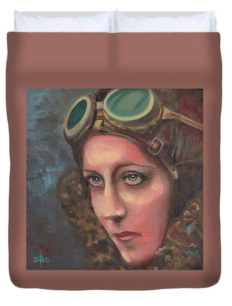 Amy Johnson Duvet Cover