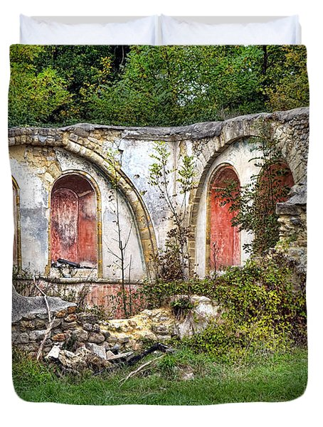 An Abandoned Chapel In France  Duvet Cover
