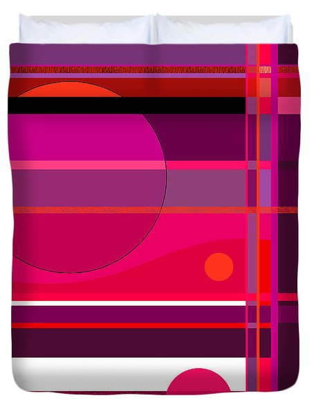 An Abstract Direction Duvet Cover