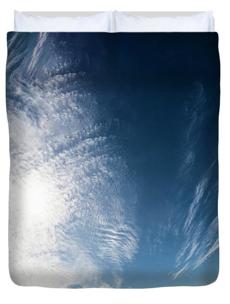An Abstract Sky Duvet Cover