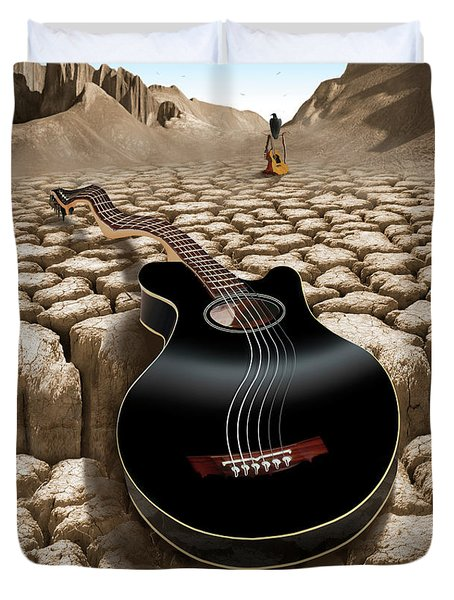 An Acoustic Nightmare 2 Duvet Cover