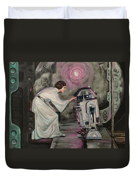 An Act Of Rebellion Duvet Cover