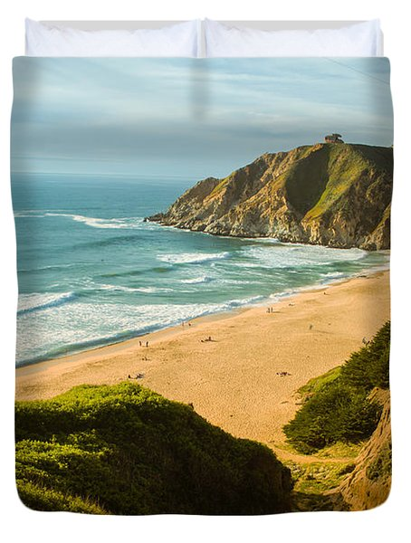 An Afternoon At The Beach Duvet Cover