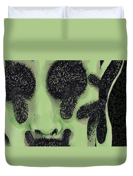 An Alien  Duvet Cover