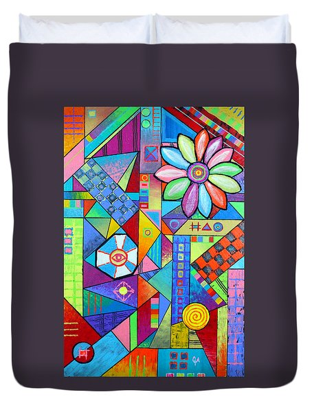 An All Seeing Eye Duvet Cover