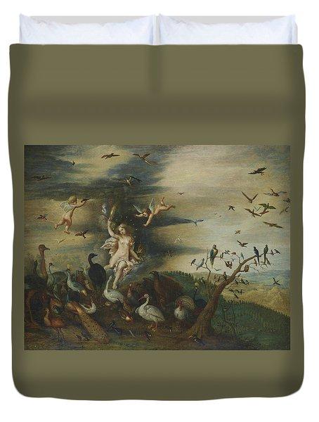An Allegory Of Air Duvet Cover