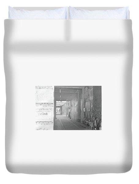 An Alley To A Backstreet Duvet Cover