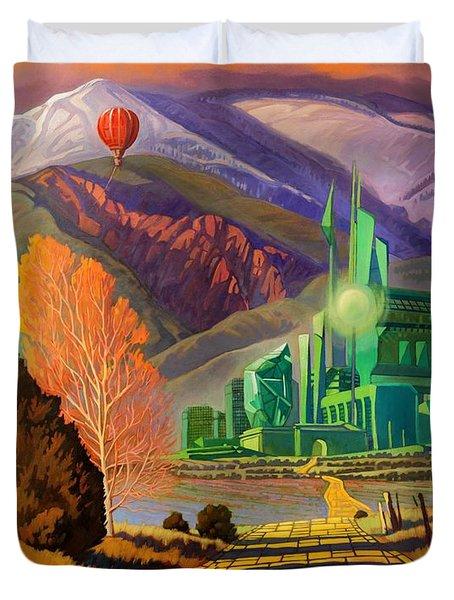 Oz, An American Fairy Tale Duvet Cover