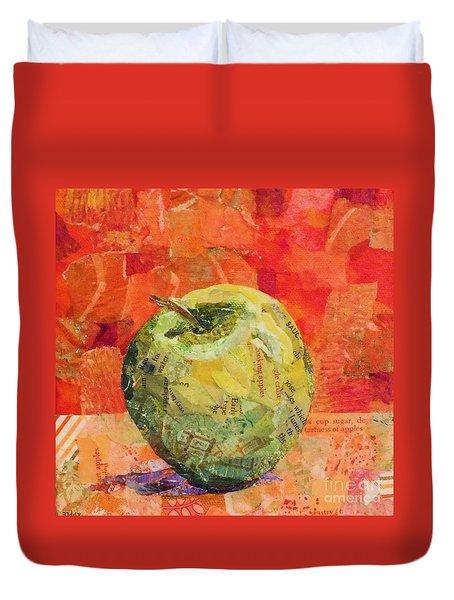 An Apple For Granny Duvet Cover