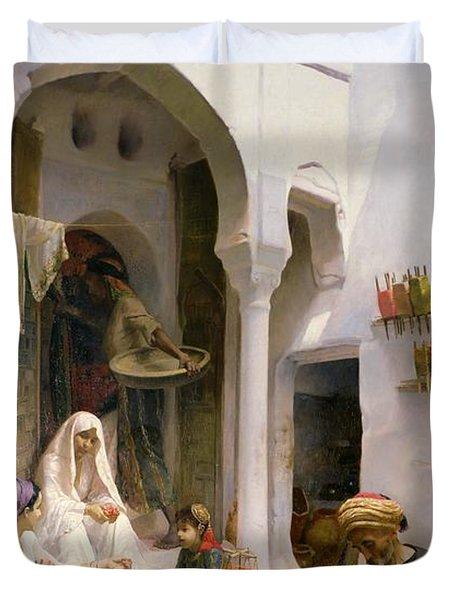 An Arab Weaver Duvet Cover by Armand Point