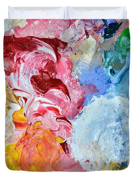 An Artful Blend Duvet Cover