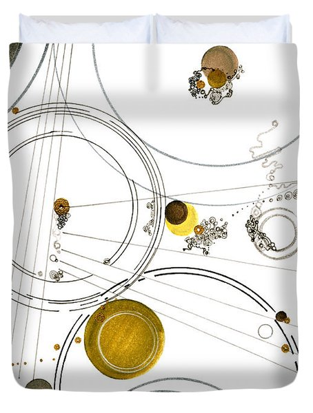 An Astronomical Misunderstanding Duvet Cover