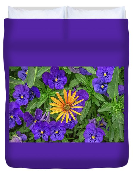An Aureole Of Sublime Beauty Duvet Cover