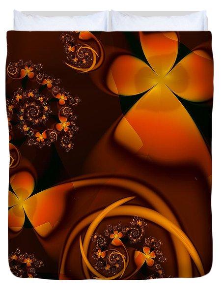 An Autumn Kind Of Summer Duvet Cover