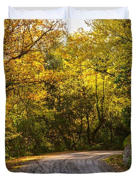 An Autumn Landscape - Hdr 2  Duvet Cover