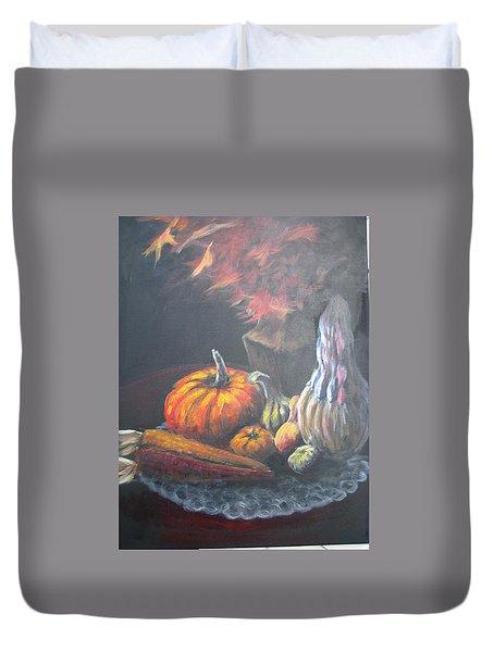 An Autumn Sumphony Duvet Cover
