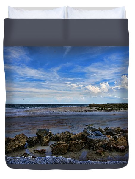 Duvet Cover featuring the photograph An Endless Summer by Anthony Baatz