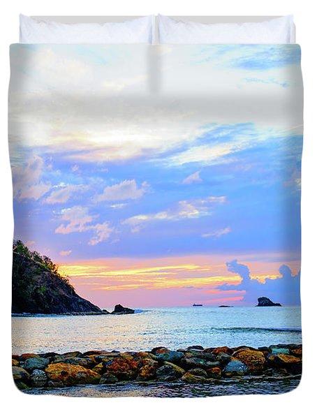 An Evening Glow Duvet Cover