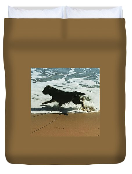 Seaside Frolics Duvet Cover