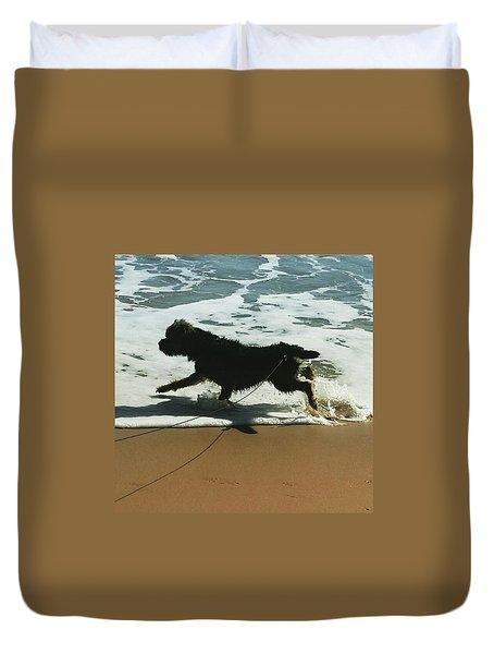 Seaside Frolics Duvet Cover