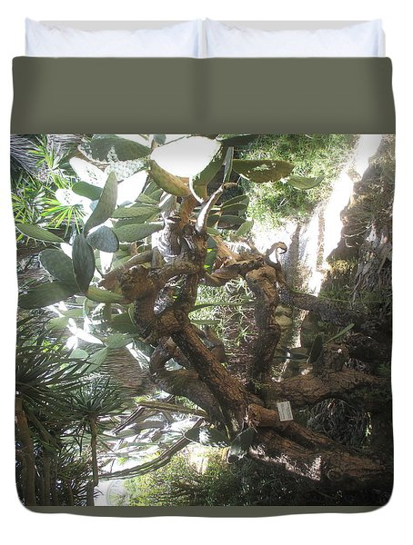 An Exotic Tree Duvet Cover
