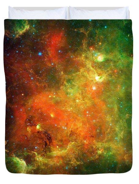An Extended Stellar Family - North American Nebula Duvet Cover