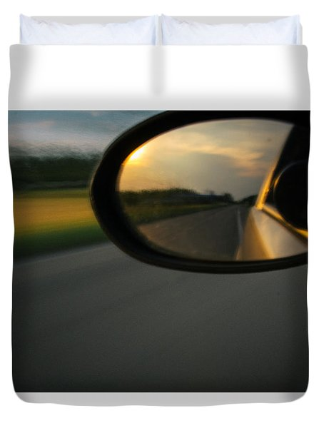 An Eye Back Duvet Cover