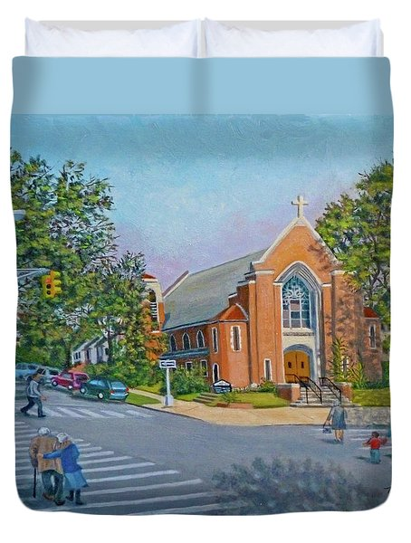 An Historical Church Duvet Cover
