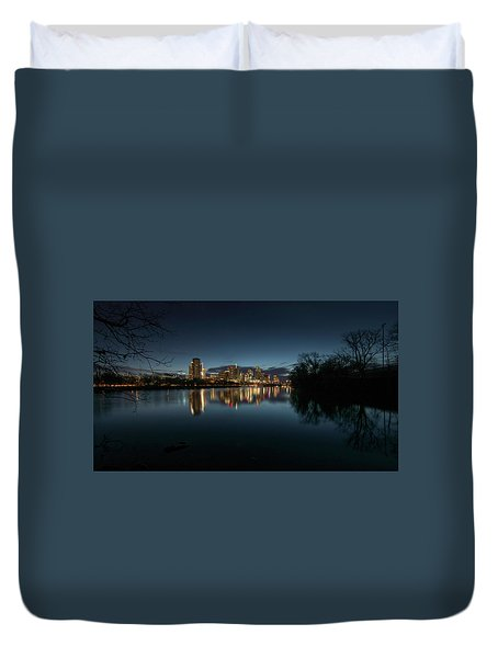 An Hour Before Sunrise Duvet Cover