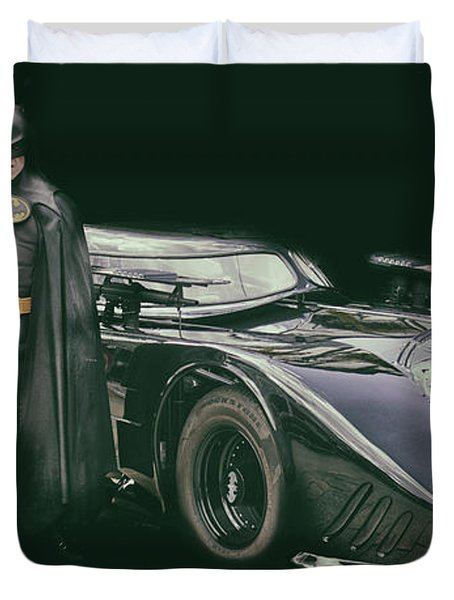 An Iconic Car Duvet Cover