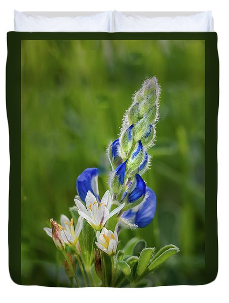 An Intimate Bouquet Duvet Cover