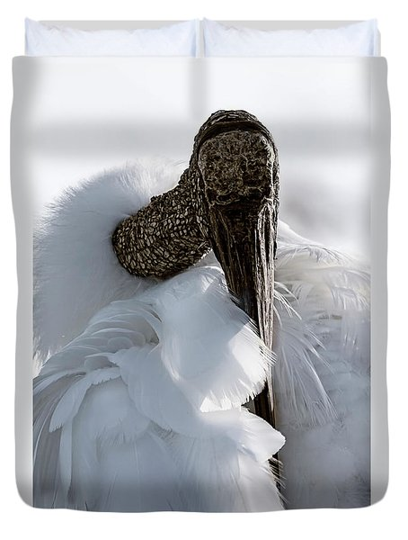 An Intimate Portrait Duvet Cover by Cyndy Doty