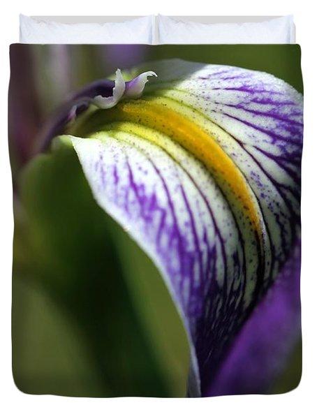 An Iris Petal Duvet Cover by Sabrina L Ryan