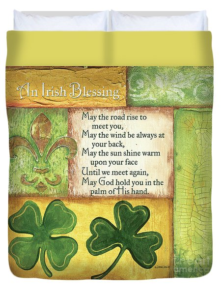 An Irish Blessing Duvet Cover