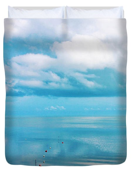 An Ocean Like Glass Duvet Cover