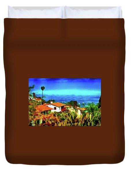An Ocean View Duvet Cover