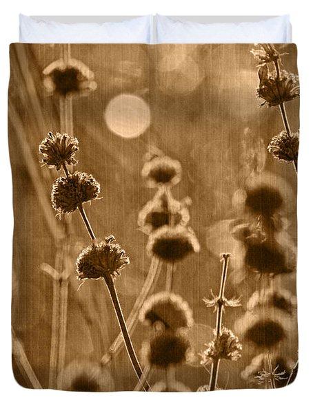 An October Morning Tint Duvet Cover