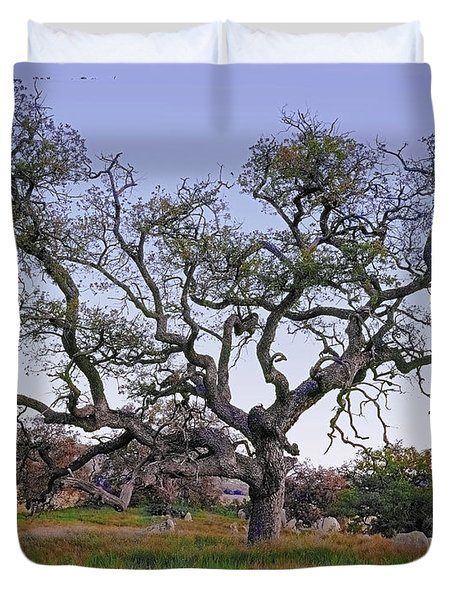 An Old Oak Weave Duvet Cover