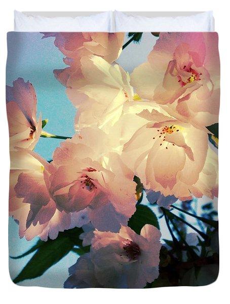 An Uncommon Beauty Duvet Cover