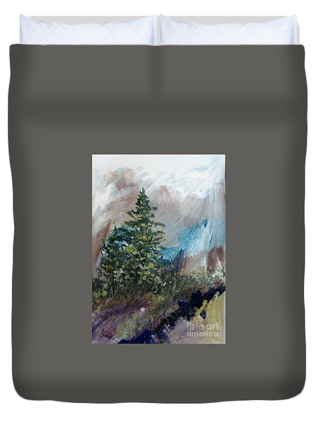 An Yosemite Afternoon Duvet Cover