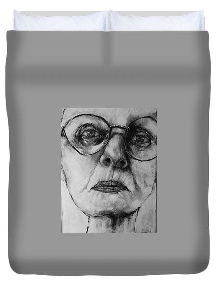 Ana  Duvet Cover by Jean Cormier