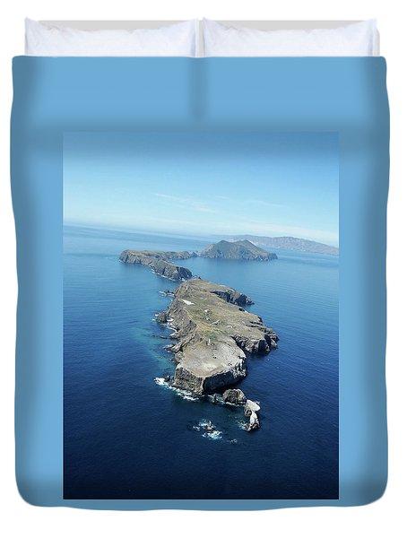 Anacapa Island Duvet Cover