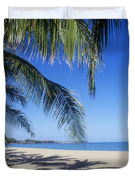 Anaehoomalu Bay Duvet Cover by Greg Vaughn - Printscapes